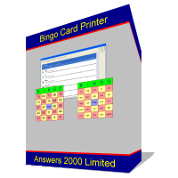 Bingo Card Printer