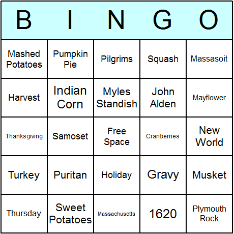 graphic relating to Thanksgiving Bingo Printable known as Thanksgiving Bingo Playing cards - Printable bingo recreation, video game