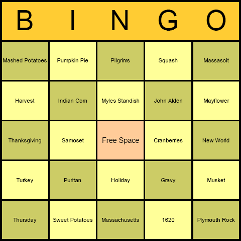 Blank Bingo Cards | New Calendar Template Site