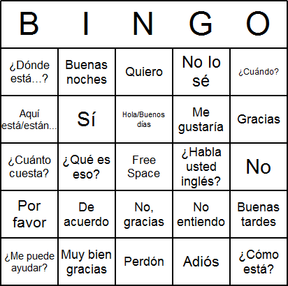 photograph regarding Spanish Printable named Spanish Bingo Playing cards - Absolutely free, printable, and offered for